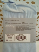 Standard Made By Design Solid Easy Care Pillowcase Set Light Blue NEW! STORE image 3