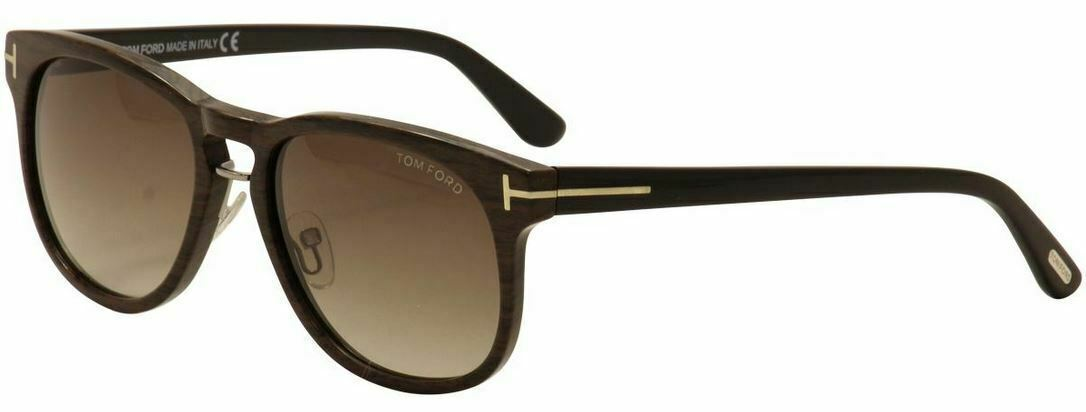 Primary image for Tom Ford FRANKLIN Wood / Brown Gradient Sunglasses TF346 05K 55