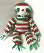 "Build a Bear BABW Peppermint Twist Sloth Plush 18"" Holiday Christmas Stu... - $36.58"
