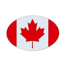 """Refrigerator Magnet - Canadian Flag (Canada) - Pride, Support - 6"""" x 4"""" - $6.99"""
