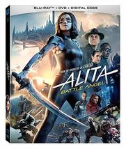 Alita: Battle Angel (Blu-ray + DVD + Digital)