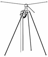 HUSTLER BASE MONITOR ANTENNA DClL VHF UHF 26-950 MHz - $66.95