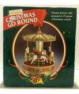 Mr. Christmas Christmas Go Round w/ 15 Christmas Carols Tested Working - $69.99