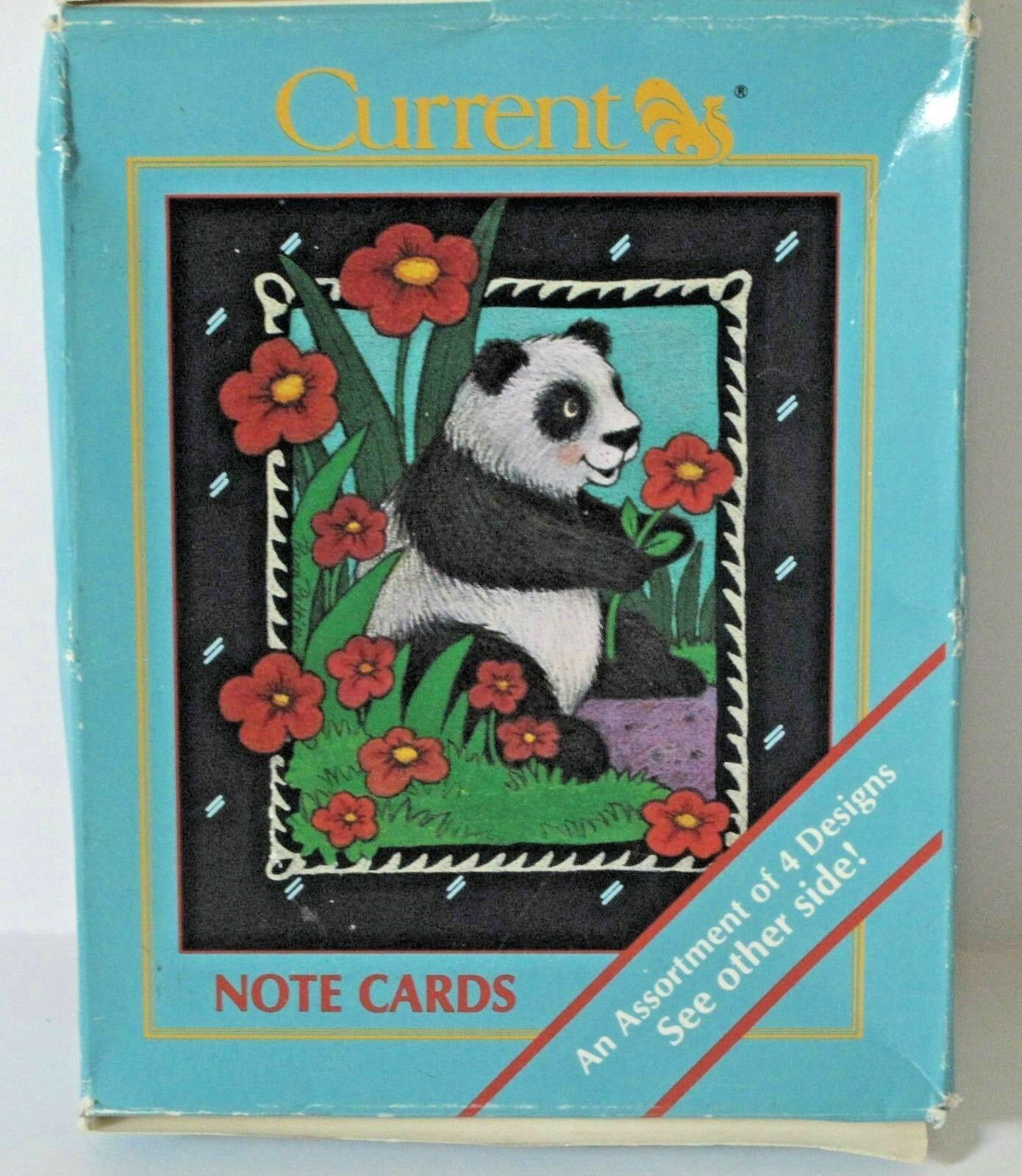 Primary image for Moonlight Menagerie Vintage Stationery 12 Note Cards with Envelopes