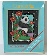 Moonlight Menagerie Vintage Stationery 12 Note Cards with Envelopes - $11.59