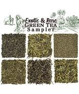 Solstice Exotic and Rare Green Tea Loose Leaf Tea Sampler Assortment 6-V... - $19.58