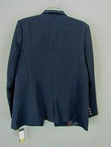 Tommy Hilfiger Women's  Pinstriped Open-Front Jacket MSRP $139 Size 16 image 3