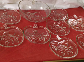 REDUCED! Anchor Hocking Apple Blossom set of 8 ... - $38.00