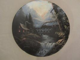 Train Collector Plate Daybreak Jesse Barnes Pathways Of The Heart #2 Railroad - $57.09