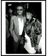 1987 BARRY GIBB & WIFE Vintage Original Photo BEE GEES THE RATTLESNAKES gp - $12.69