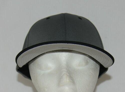 OC Sports TGS1930X Proflex  Flat Visor Cap Dark Grey Black