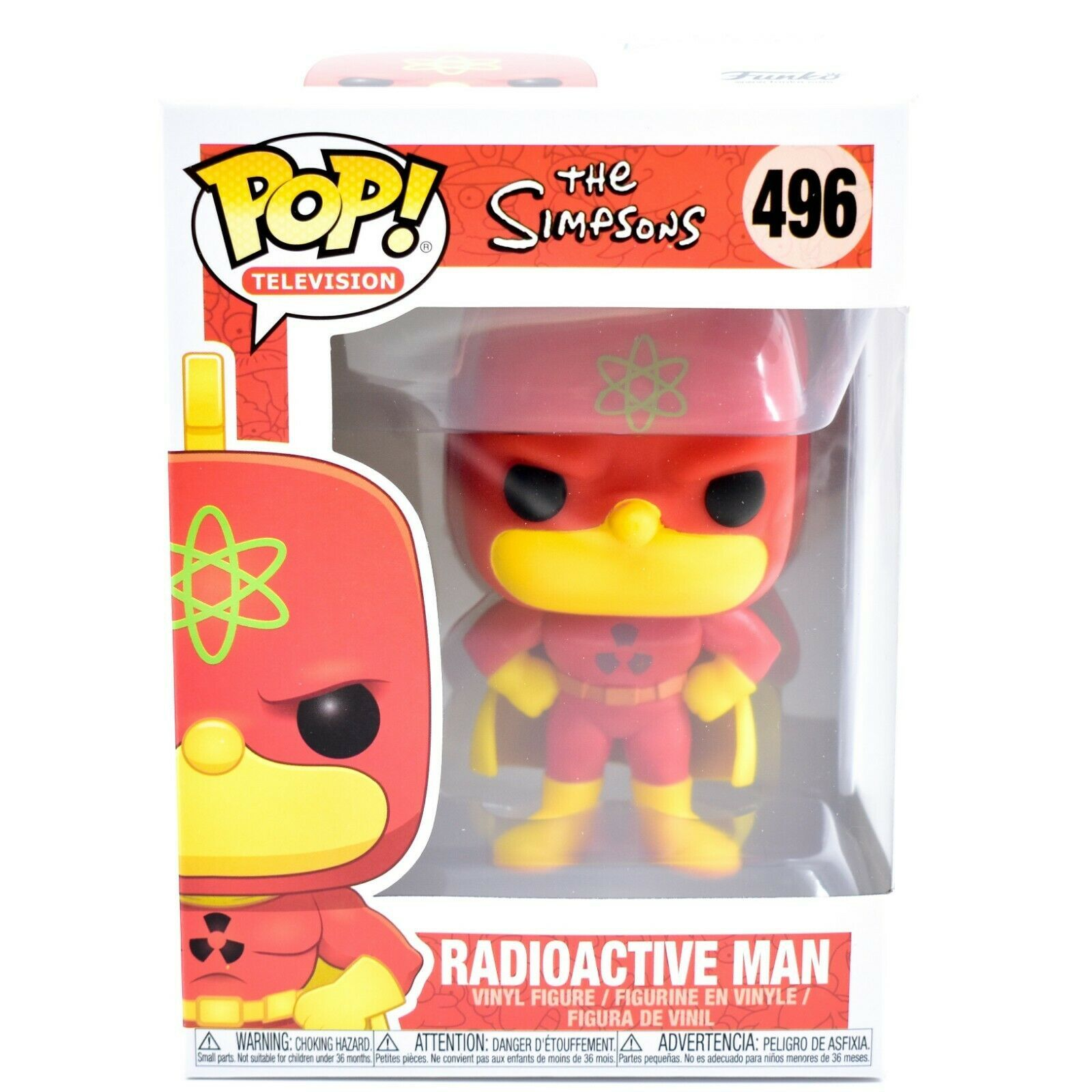 Funko Pop! Television The Simpsons Homer as Radioactive Man #496 Vinyl Figure