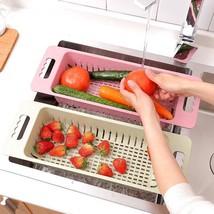 Straw Kitchen Plastic Plates Vegetables Storage Racks Storage Organizati... - $20.97