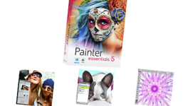 Corel Painter Essentials 5 Digital Art Suite for PC and Mac NEW! - $38.01