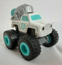 Blaze and the Monster Machines White Knight Truck Diecast Nickelodeon Mattel - $12.31