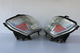 04-10 Infiniti QX56 Xenon HID Headlight Head Light Lamps Set LH & RH -POLISHED image 5