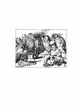 Alice In Wonderland Giclee Print From Sir John Tenniel- A Queer Looking ... - $12.74