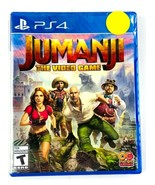 Jumanji The Video Game PlayStation 4 PS4 Brand New Factory Sealed - $24.74
