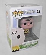 48 Pop Charlie Brown Peanuts Vinyl Figure Funko Television Comic Strip NIP - $19.78
