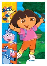 Dora the Explorer Party Treat Favor Bags 8 Plastic Loot Bags Per Package... - $1.93