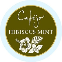 Cafejo Tea K-Cups, Hibiscus Mint, 24 Count  Packaging may vary - $25.31