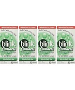 blink Contacts Lubricating Eye Drops 10 mL Pack of 4 - $858,66 MXN