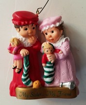 Hallmark Keepsake My Sister My Friend 1999 Sister to Sister K Christmas ... - $9.99