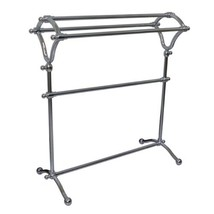 Kingston Brass SCC2281 Pedestal Y-Type Towel Rack, Polished Chrome - $127.76