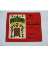 Gong Hee Fot Choy Chinese Fortune-Telling Numerology Astrology Vintage 1938 - $18.95