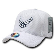 United States Air Force Usaf White Mesh Officially Licensed Baseball Cap Hat - $31.95
