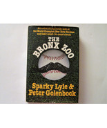The Bronx Zoo by Peter Golenbock and Sparky Lyle (1979) New York Yankees... - $19.79