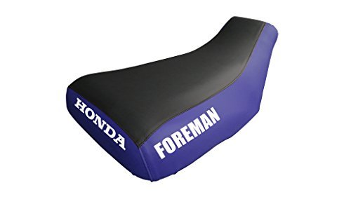 Primary image for Honda Foreman TRX400FW Seat Cover Black & Blue Honda & Foreman Logo 1997 To 2003