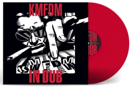 KMFDM - In Dub Exclusive Limited Edition Red Colored 2x Vinyl LP - $67.99