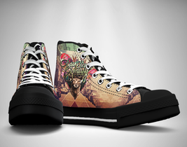 Pain Is Beauty  Canvas Sneakers Shoes - $49.99
