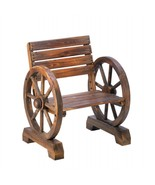 Old Country Wagon Wheel Chair - $102.26