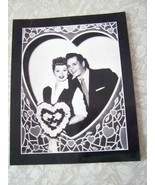 I Love Lucy Lucille Ball Desi Arnez 8x10 Black & White Photo - $19.99