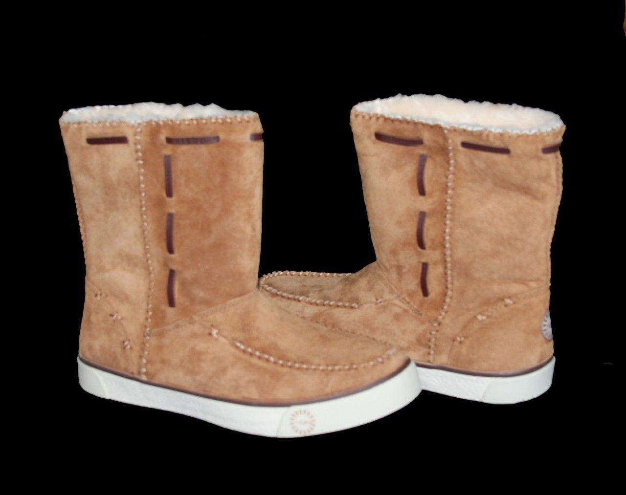 242a4c2f35b Authentic UGG Fur Lined Chestnut Short Boots and 50 similar items