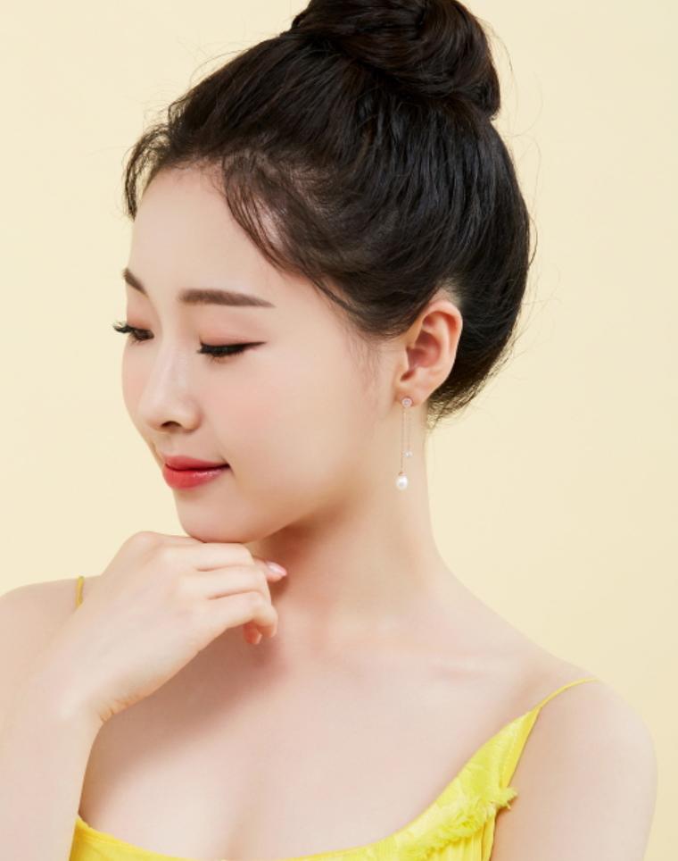 J.ESTINA jestina Basic Perlina Earring Jewelry Gift KOREA Drama Free Shipping