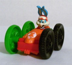 ~McDonalds~1990~Cute Fuzzy Animals~Bugs Bunny Dual Racer Car~Happy Meal ... - $2.88