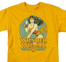 Wonder Woman T-shirt retro DC comic book Batman superhero cotton tee DCO275 image 2