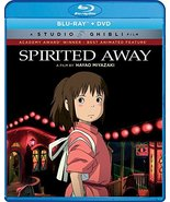 Spirited Away [Blu-ray+DVD] (2001) New - $16.95