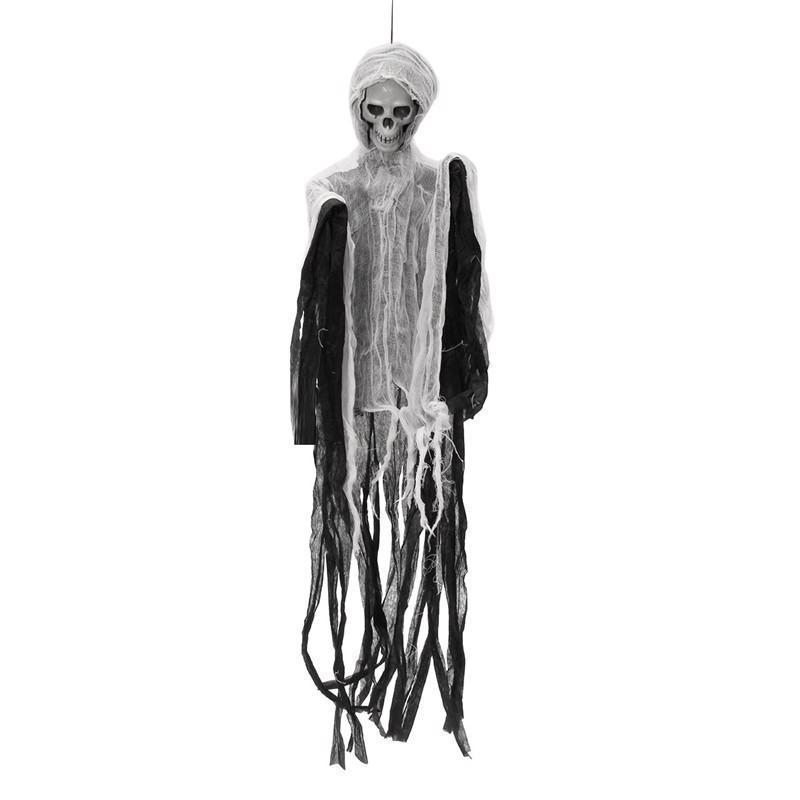 Halloween Decoration Spooky Party Creepy Scary Skull Haunted Hanging Doll Decor