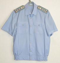 Soviet Militia Officer Captain Uniform Summer Shirt Russian Vintage Police - $11.88