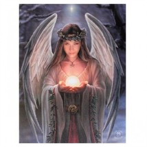 """Nemesis Now:  Yule Angel Canvas on Wood Frame by Lisa Parker 10"""" x 8"""" - €12,02 EUR"""