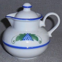 DANSK Provincial HARVEST PATTERN Creamer with Lid MADE IN JAPAN - $12.86