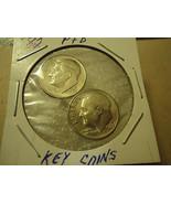 1982-P & D ROOSEVELT DIME COINS    ** KEY COINS **       S&H + C/S - $2.96