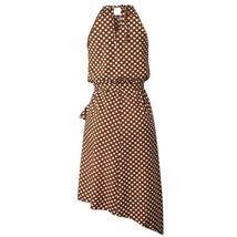 Women's Brand Fashion Halter Polka Dot Wrap Sundress image 6