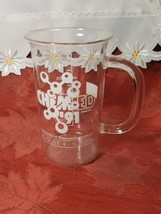 1991 University Of Wisconsin Oshkosh Chem-Ed Glass Beaker Mug image 1