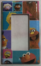 Sesame Street Friend Block Light Switch Power Outlet wall Cover Plate Home decor image 3