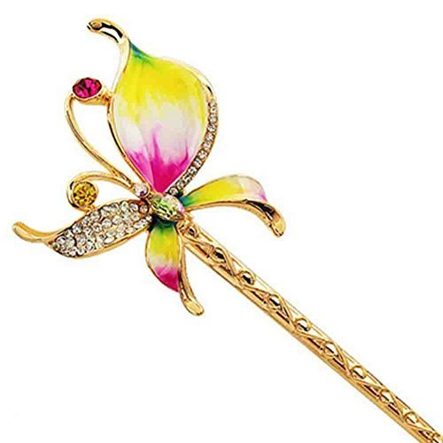 Classical Hair Stick Butterfly Ladies/Girls Hair Stick Dish Hair Headwear